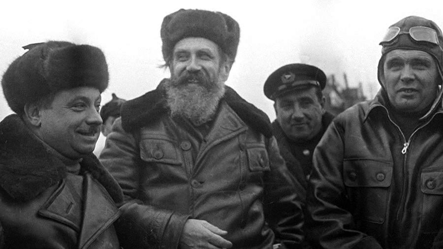 Иван попанин экспедиция на северный полюс