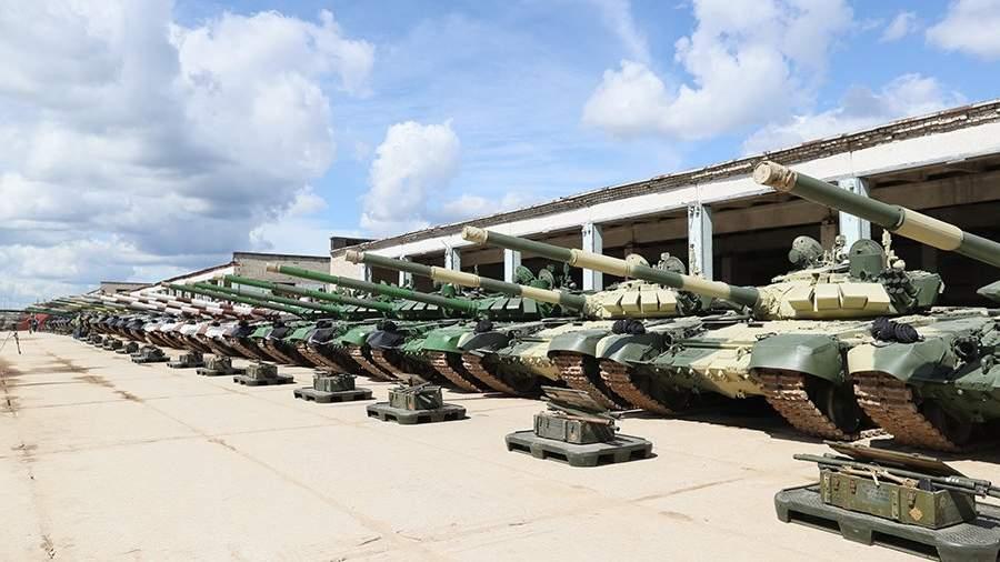 Танк Т-72 выступит намеждународном «Танковом биатлоне» вПодмосковье