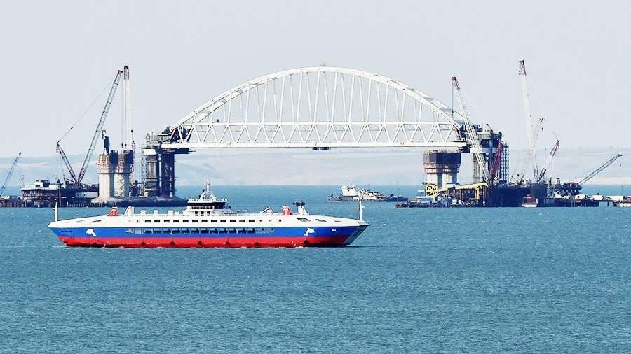 Стало известно обучастии европейских компаний встроительстве Керченского моста