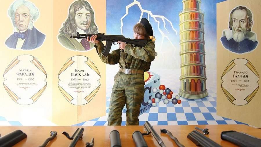 В Российской Федерации зашколами могут закрепить военные части для «патриотического воспитания»