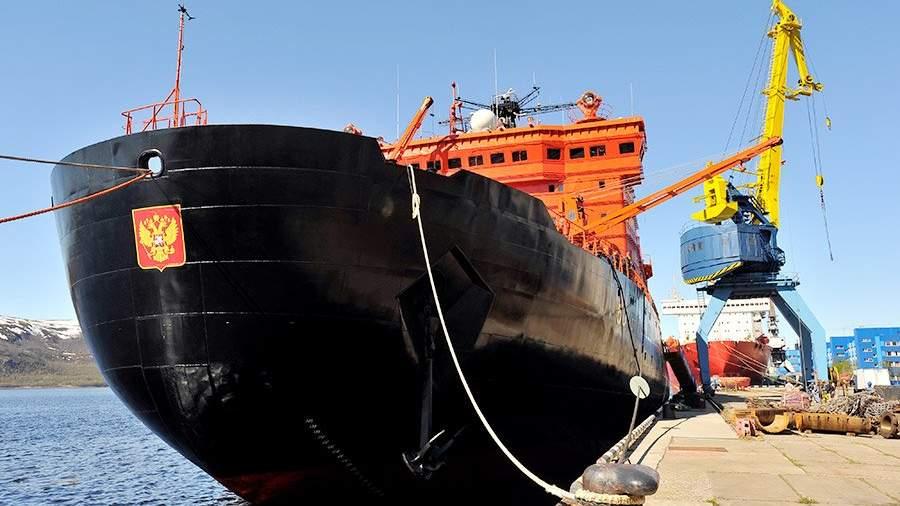 Россия планирует направить вАрктику довосьми новых ледоколов