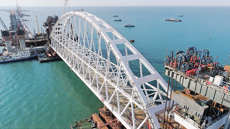 Керченский мост спасает металлургическую отрасль