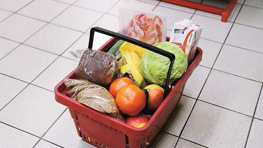 Набор потребительской корзины вРФ «заморозят» до 2021г
