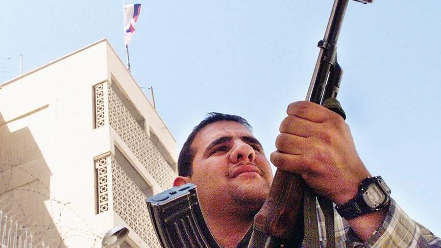 РФ желает перенести свое посольство в неменее неопасное место— Ирак