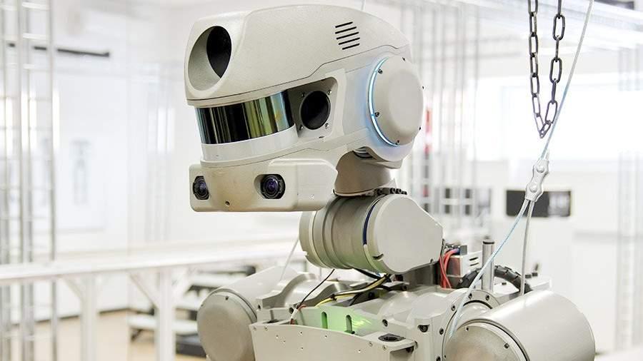 Робот Федор начнет тестирования наорбите Земли в 2021-ом году
