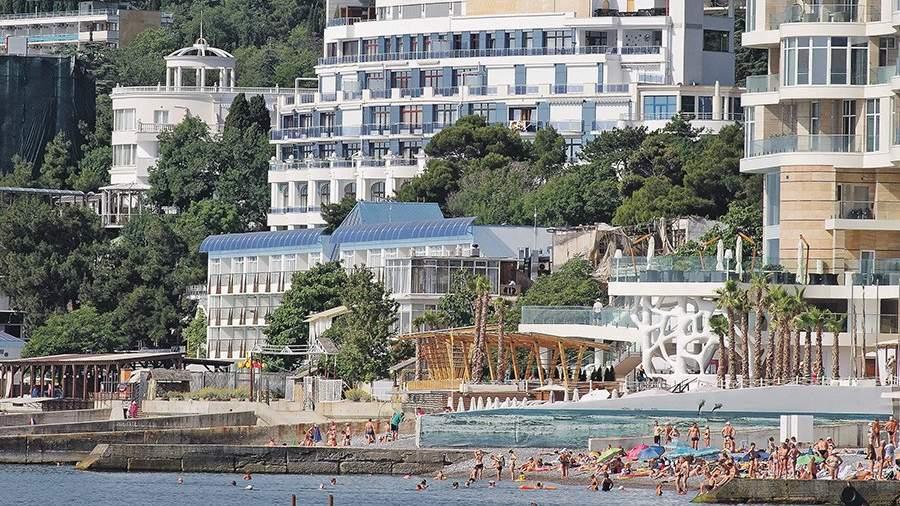 Курорты Крыма догоняют Сочи поколичеству туристов