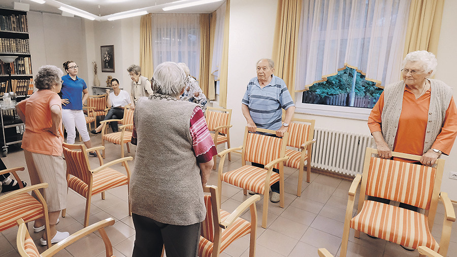 В России появятся типовые дома престарелых