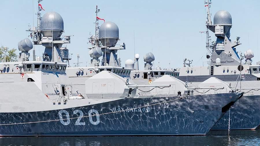 Минобороны построит новейшую  базу для Каспийской флотилии