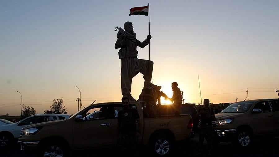 Происходят столкновения иракских военных ипешмерга