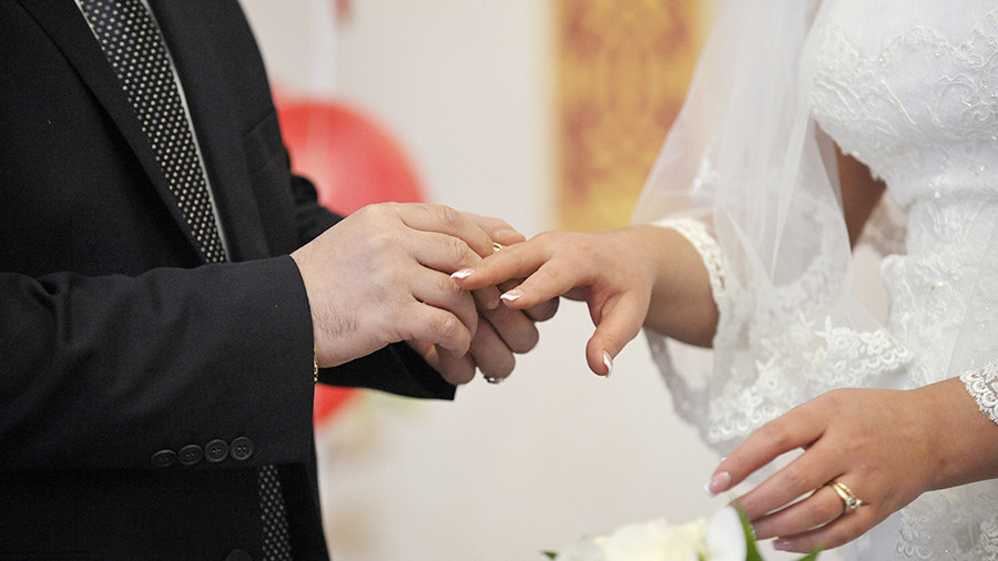 ВРФ возросло количество свадеб впервый раз затри года