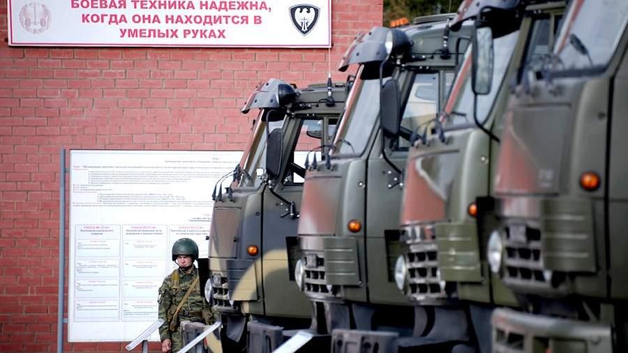 Военные воспитатели получили мультимедийные вездеходы