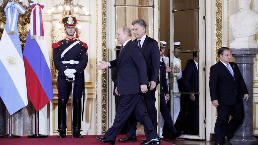 Попал в десятку: в Аргентине Путин провел переговоры с главами 10 стран
