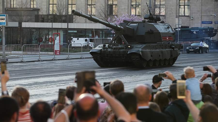 На границу с Украиной перебрасывается дальнобойная российская артиллерия