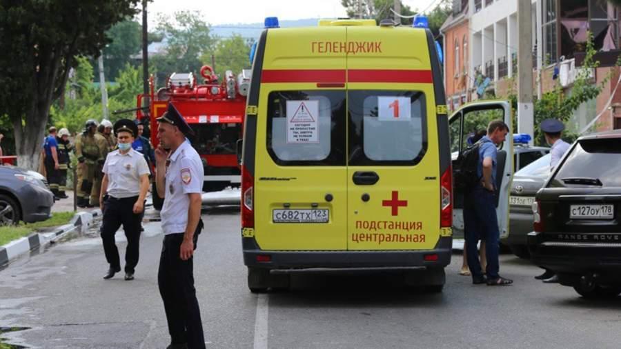 RIAN 6594650.HR .ru Частный случай: в гостинице Геленджика прогремел взрыв