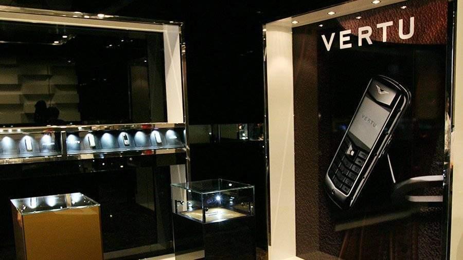 Обанкротился производитель телефонов Vertu