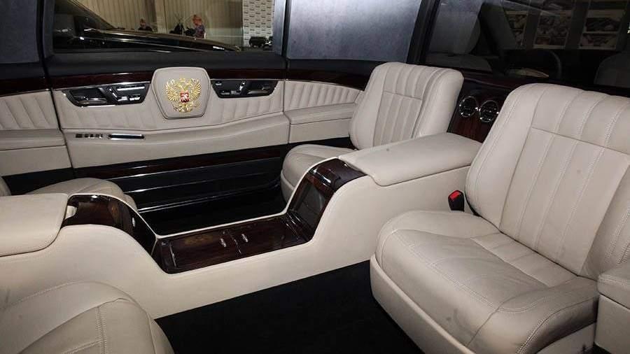 Путин протестировал русский VIP-лимузин