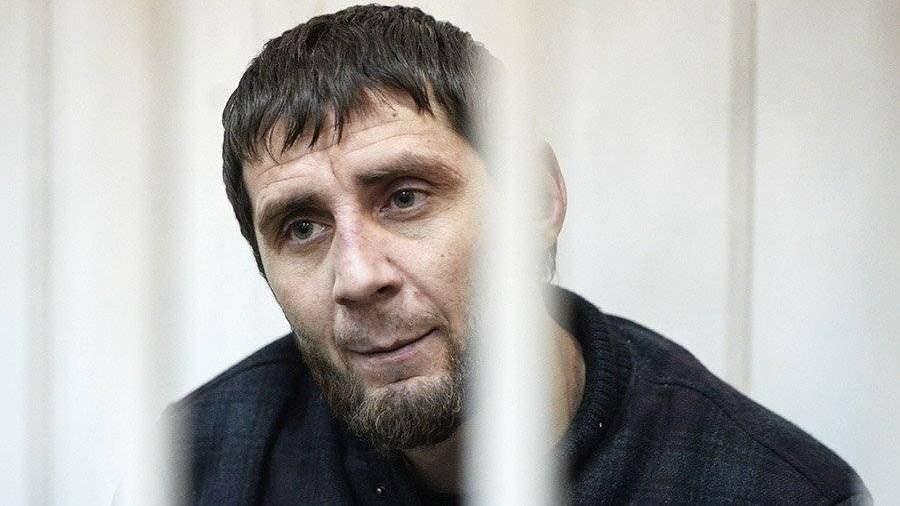 Гособвинение просит приговорить Дадаева кпожизненному сроку заубийство Немцова
