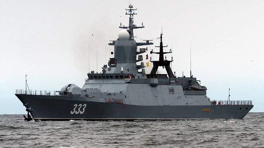 Корвет «Совершенный» войдет всостав Тихоокеанского флота вчетверг