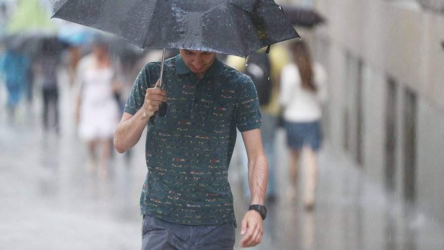 В столице России  иобласти ожидаются дождь, гроза идо26 градусов тепла