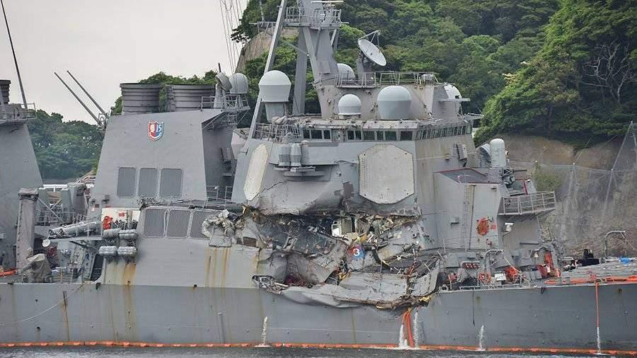 Командование американского эсминца Fitzgerald уволено после погибели 7-ми человек