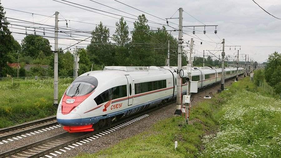 ВРЖД подтвердили намерения о закупке новых «Сапсанов» укомпании Siemens