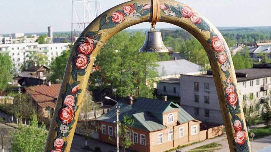 Памятник-подкова появился вВалдае