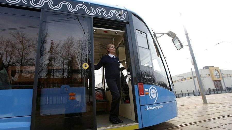 Москва запустила неменее 80 трамваев «Витязь-М»