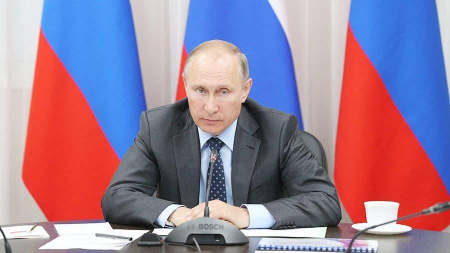 Путин поздравил Следственный комитетРФ с10-летним юбилеем