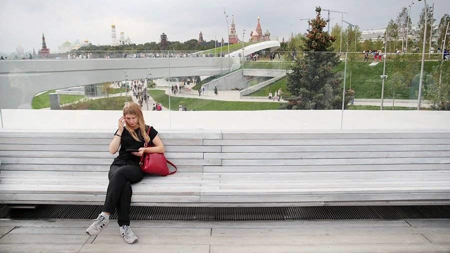 Строительство парка «Зарядье» вцентре столицы обошлось в14 млрд руб