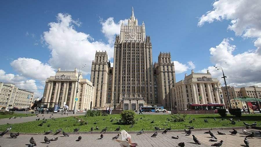 В столице России завершена реконструкция шпиля здания МИДРФ