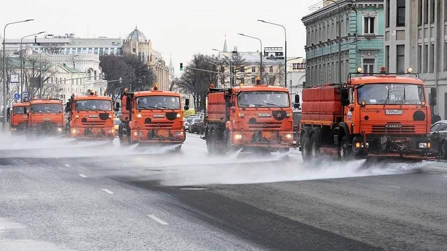 В столицеРФ начнут подготовку дорог кзиме