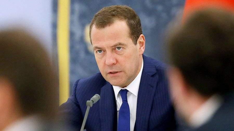 Медведев проинформировал, что втекущем году урожай зерна превысил 120 млн тонн