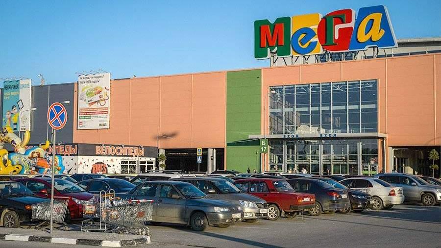 ВЕкатеринбурге из-за пожара эвакуировали торговый центр «Мега»