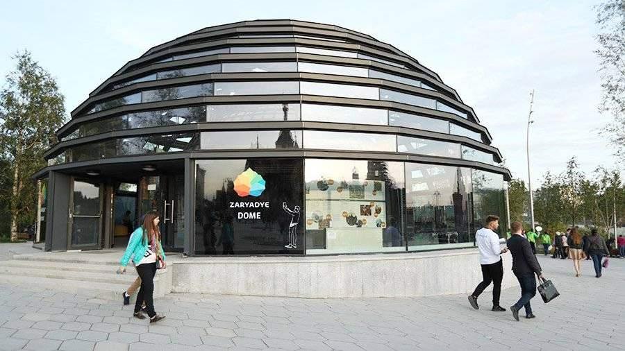 Вандалы разбили стеклянный купол вновом парке «Зарядье» в российской столице