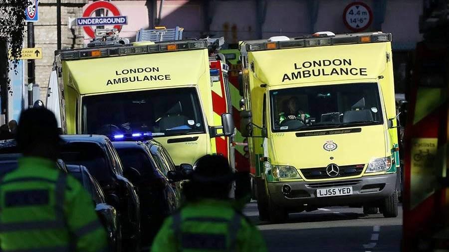 При распылении токсичного вещества вТЦ встолице Англии пострадали 6 человек