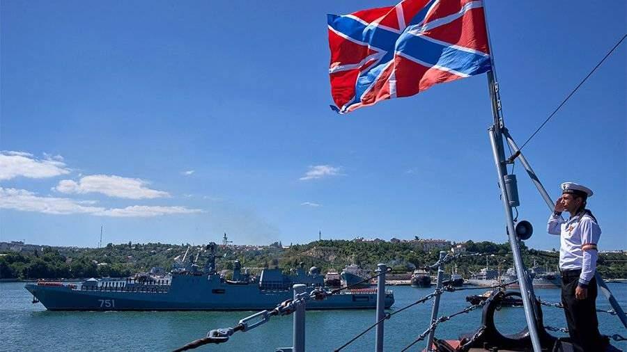 ВРФ оценили планы столицы Украины побороть Черноморский флот «волчьей стаей»