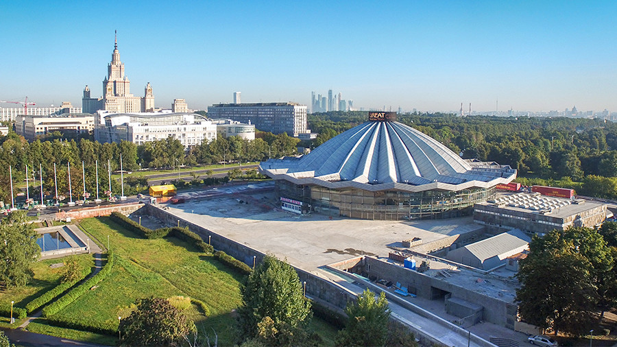 Мэрия столицы будет собственником наибольшего цирка вевропейских странах