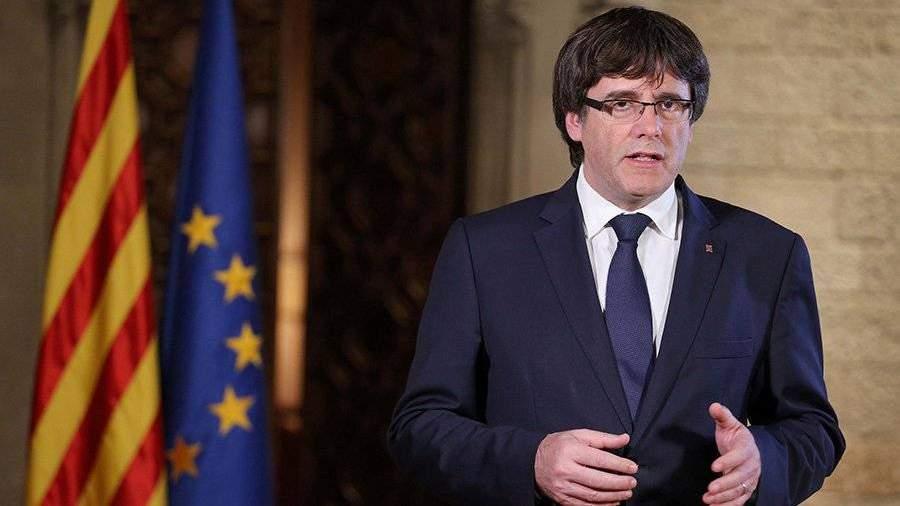 Пучдемон: Мынепримем решение Мадрида оприостановке автономии Каталонии