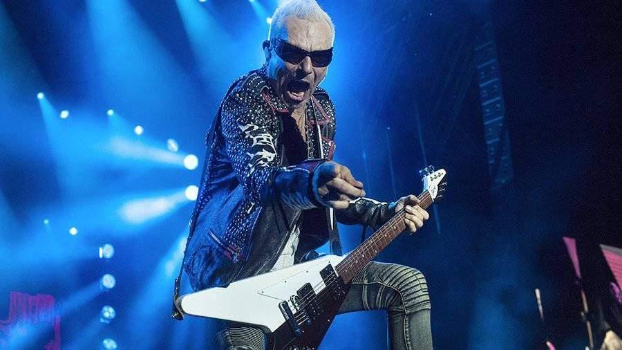 ВСочи началось российское турне Scorpions с окончанием вЕкатеринбурге
