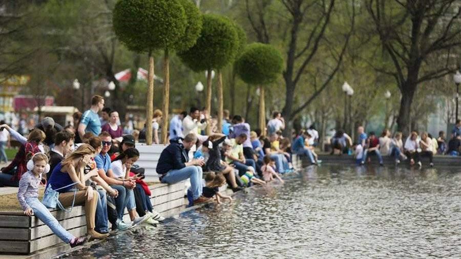Залетний сезон Парк Горького посетили практически 22 млн. человек