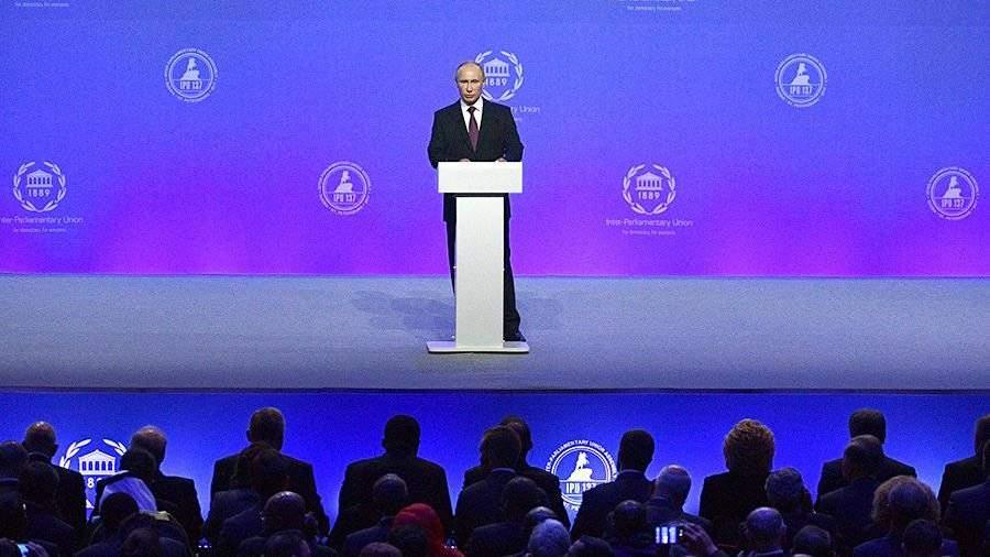 Российская Федерация будет двигаться попути демократического развития— Путин