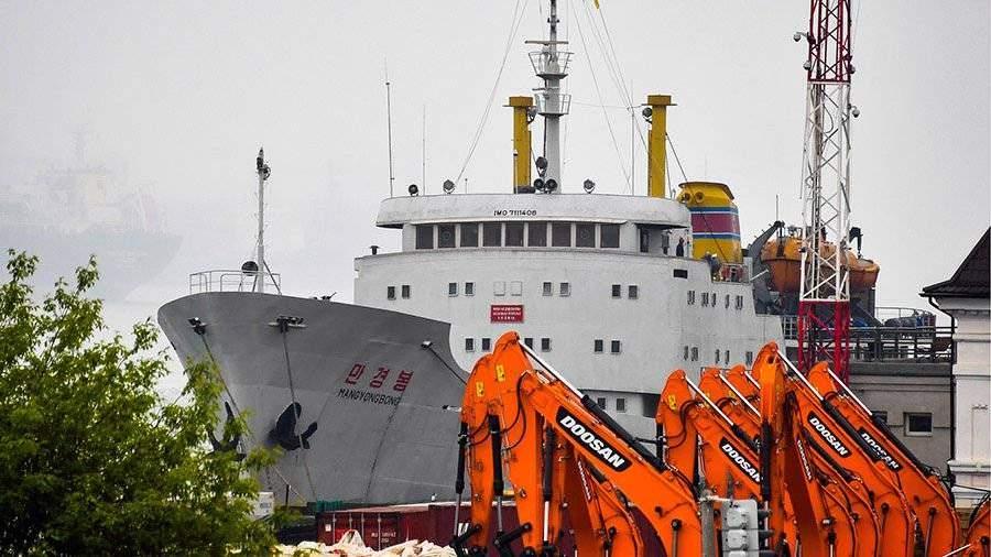 Морское сообщение между Владивостоком иКНДР возобновлено