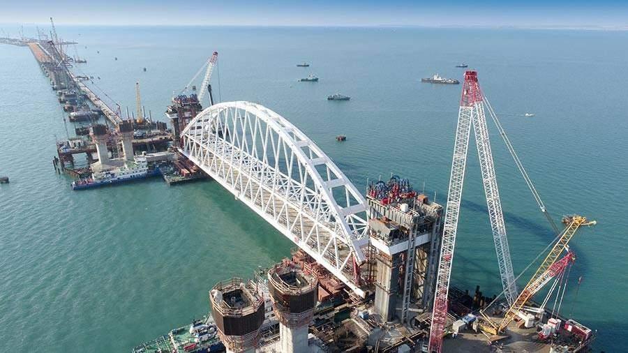 Керченский мост будут охранять самые новые гидроакустические системы