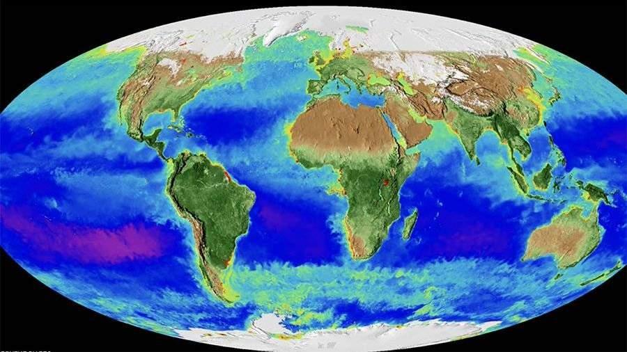 НАСА создало видео отом, как поменялась Земля запоследние 20 лет