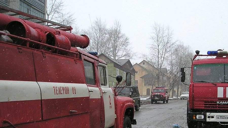 Семь человек пострадали вовремя пожара вАнадыре