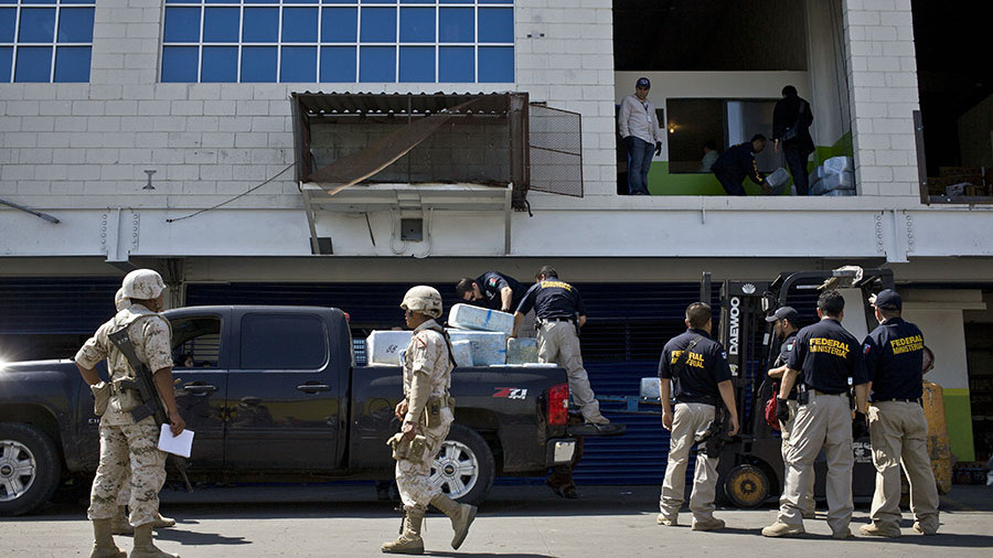 ВМексике изъяли пушку для стрельбы марихуаной натерриторию США