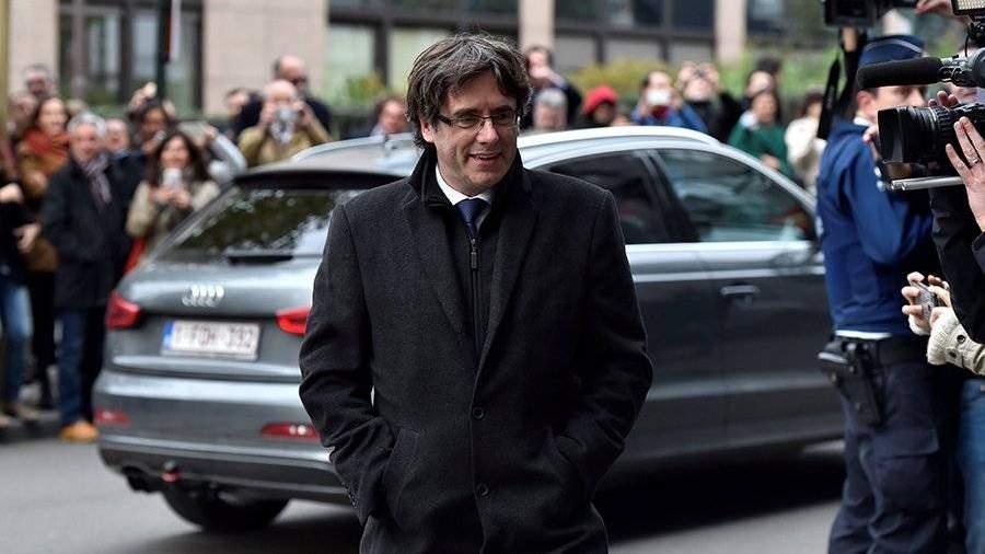 ВБельгии получили ордер наарест Карлеса Пучдемона