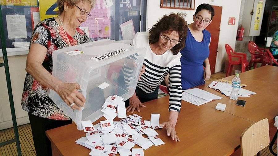 Президента Чили выберут вовтором туре