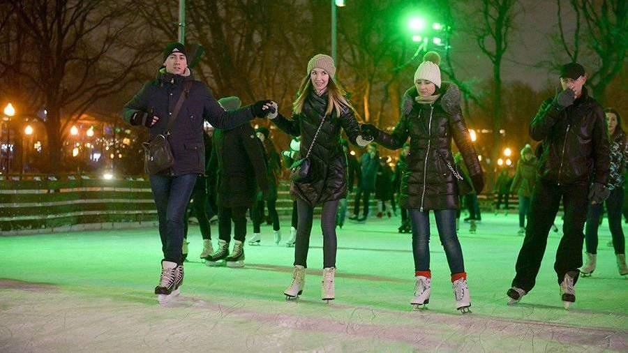 В столице России откроют 190 катков сискусственным льдом