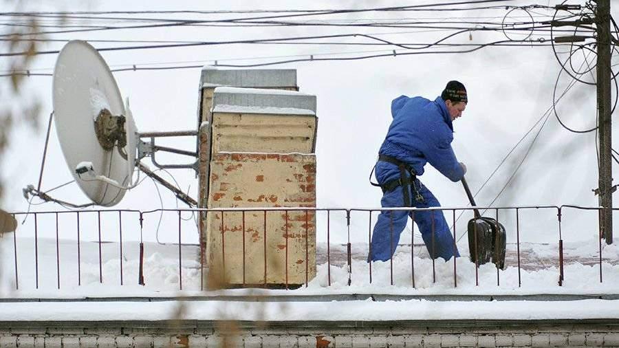 Инструменты для уборки снега с крыш